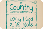 Country Commandments