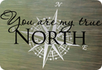 You Are My True North