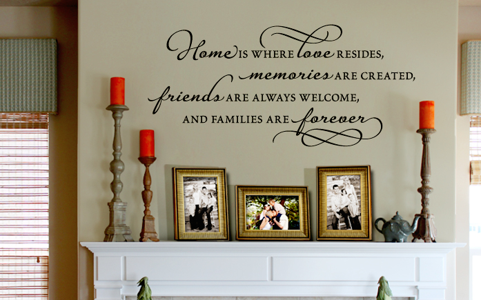 Wall Quotes, Words, Letters, Decals & Sayings | Vinyl Quotes For Walls