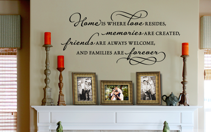Wall Art Sayings wall quotes, words, letters, decals & sayings | vinyl quotes for walls