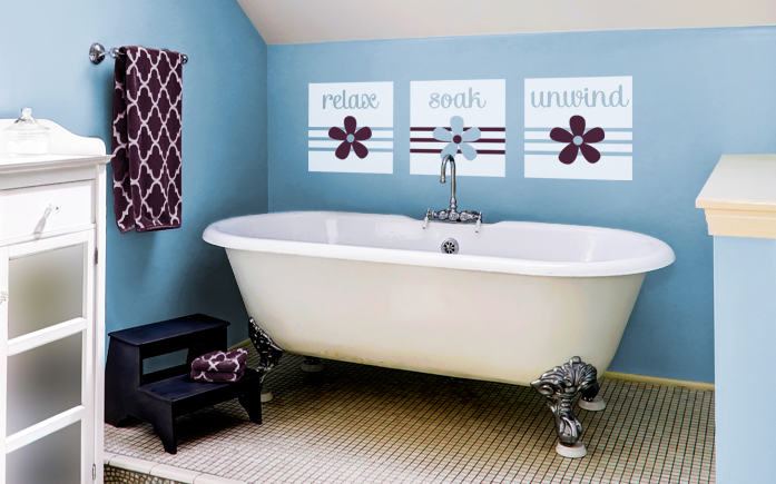 Words for walls decals